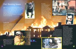 Arson and how fire investigators map blazes